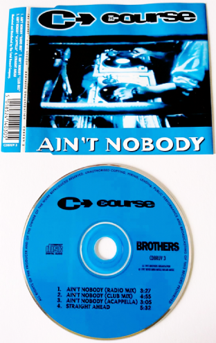Course (The) - Ain't Nobody (CD Single) (VG/VG)